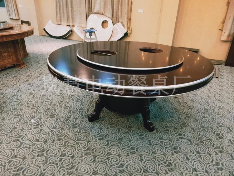家用电动圆桌