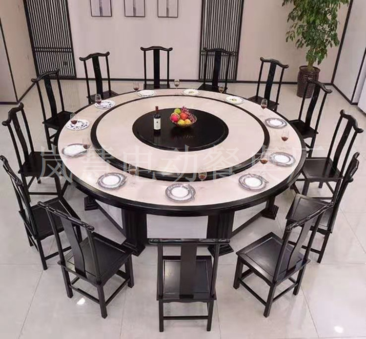 10人电动餐桌