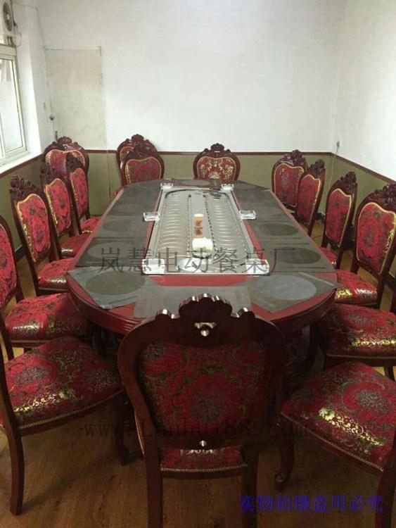 购憜圆8人座餐桌20人圆餐桌