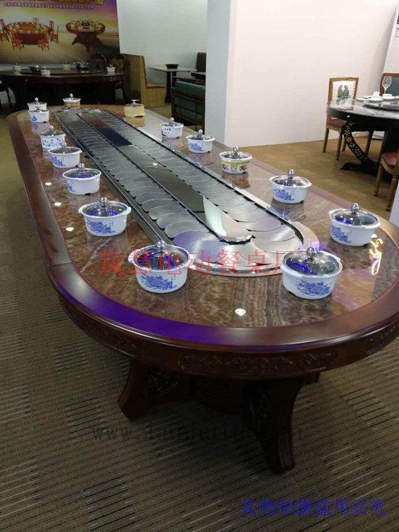 传送带餐桌机芯配大理石台面什么价格