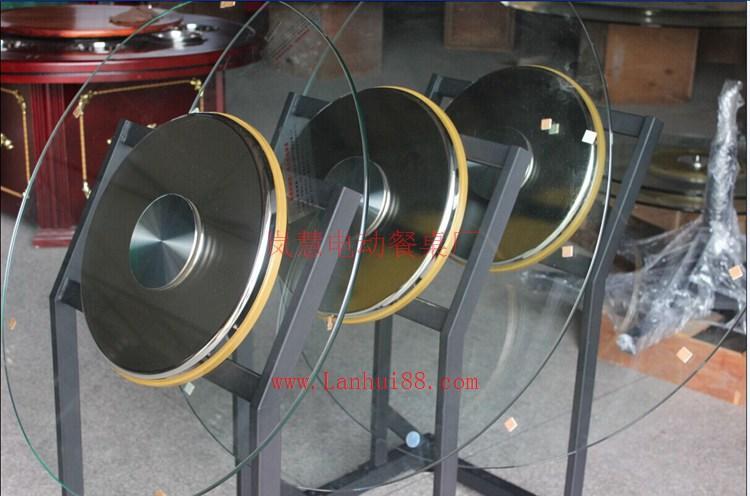 天然大理石电磁炉火锅桌玻璃转盘