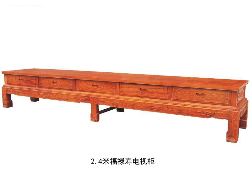 2.4米福禄寿电视柜