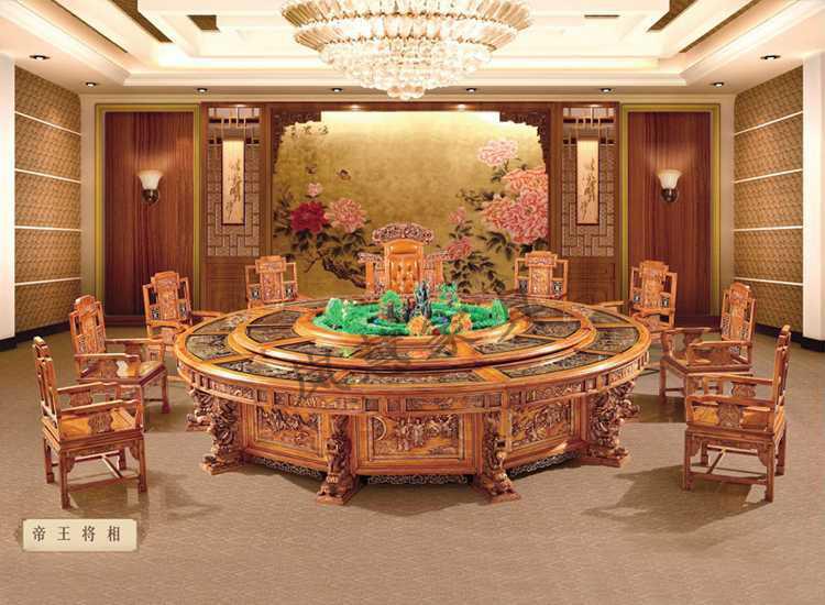 酒店用电动餐桌帝王将相|非洲