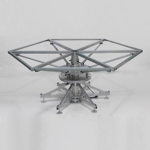 电磁炉电动餐桌支架转盘