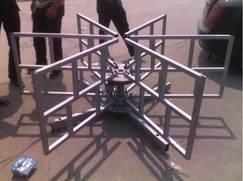 大型电动圆餐桌落地式支架4-8米餐桌专用