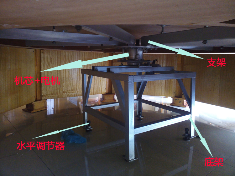 2.4~2.8电动餐桌机芯安装