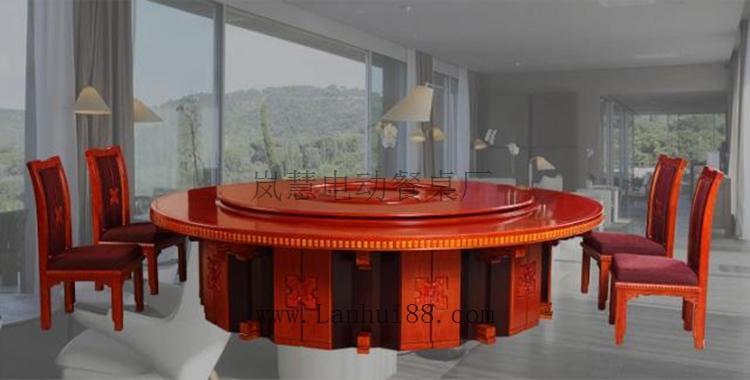 旋转自动圆台餐桌低价批发