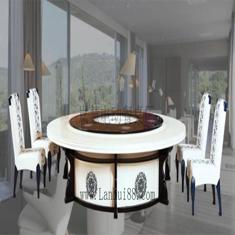 电动餐桌设备电动餐桌大理石桌面质量好不好?