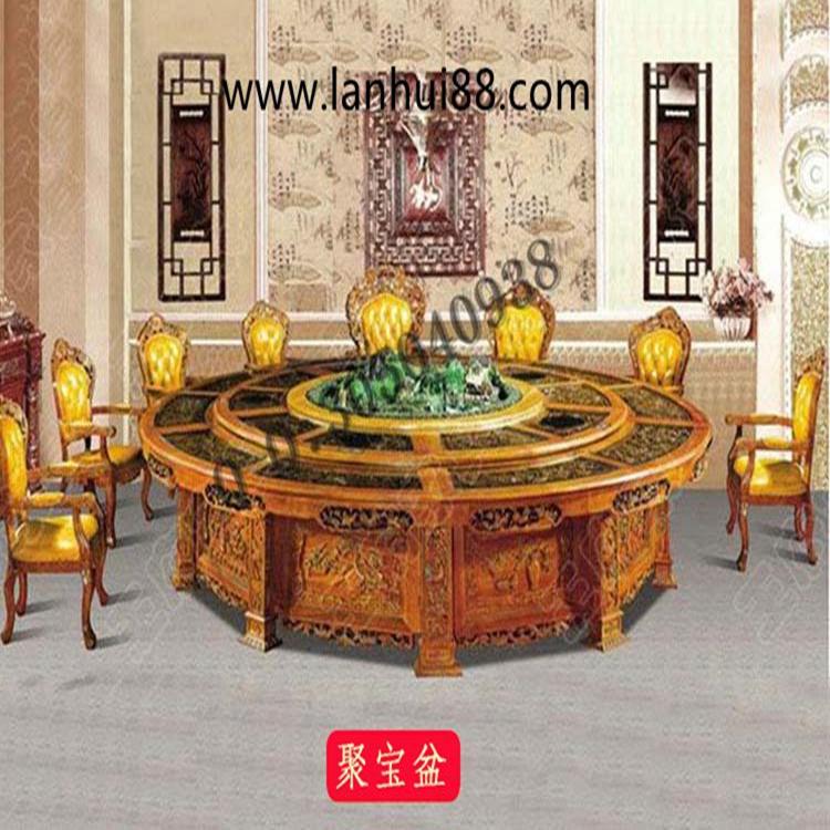 电动餐桌设备豪华自动餐桌经典12条