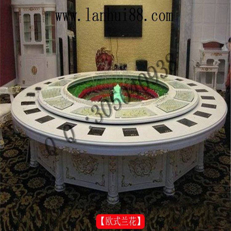 电动餐桌设备  一人一锅火锅桌买来需要放段时间