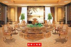 新中式电动餐桌特色