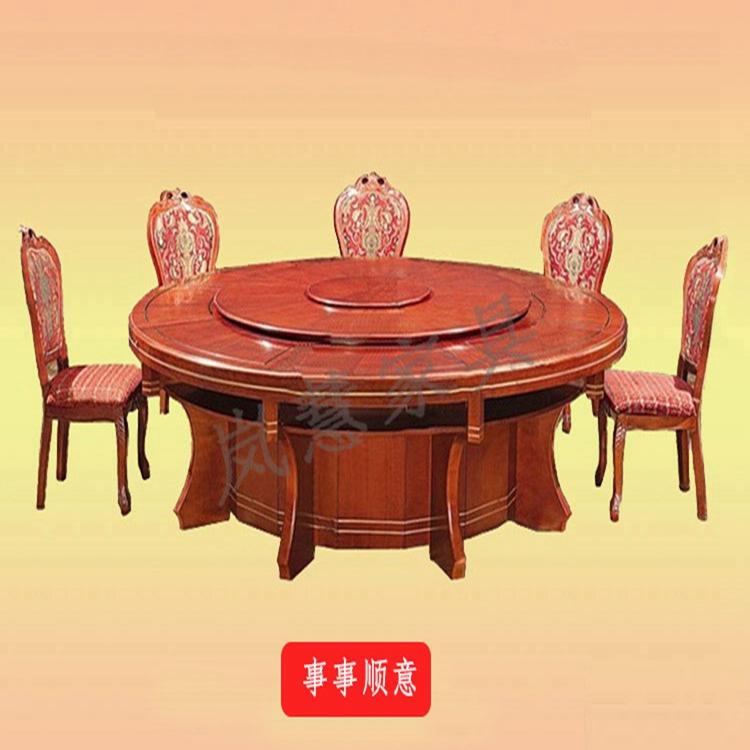中餐厅桌椅的摆放