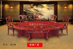 新中式风格的电动餐桌Tel:19878986433