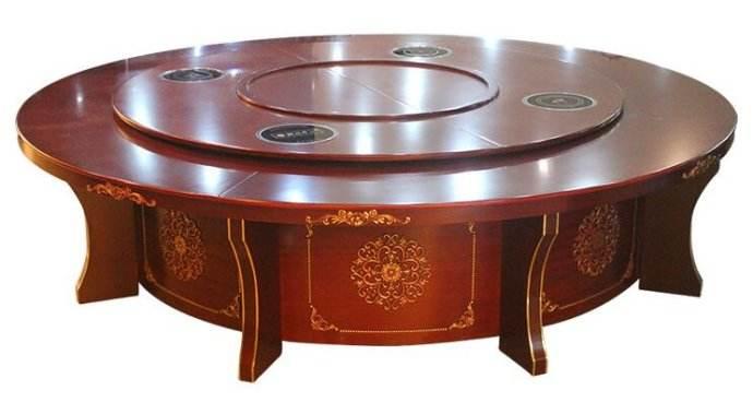 智能电动餐桌20人餐桌尺寸