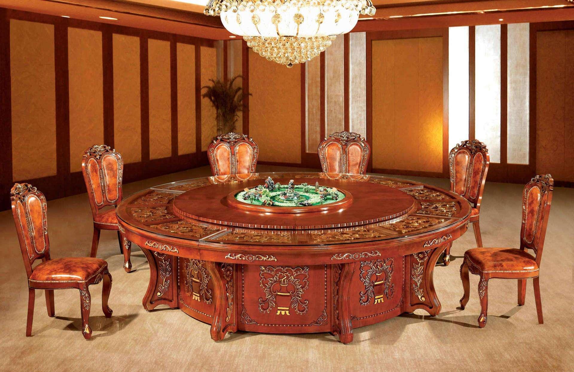 大型电动餐桌订制款式