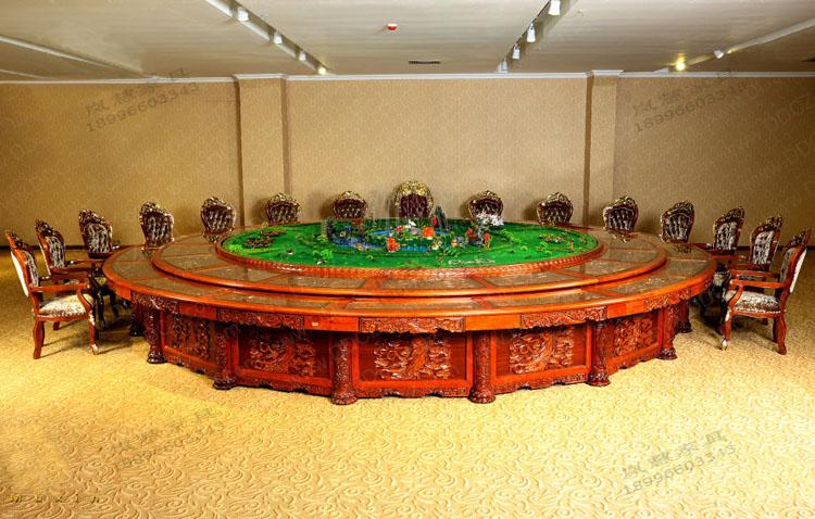 非花-电动餐桌