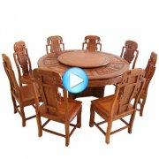 电动餐桌、红木家具的保养