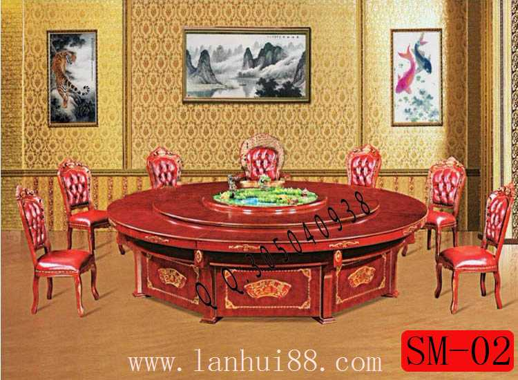 一帆风顺-电动餐桌