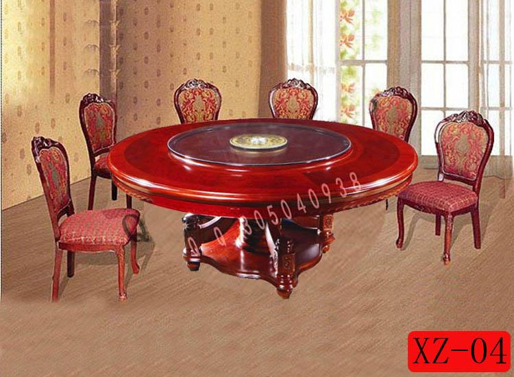 实木园餐桌图片大全120