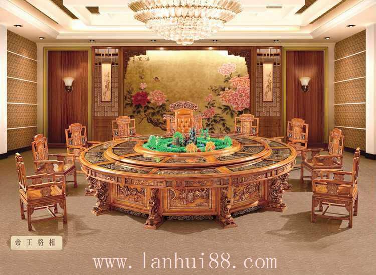 帝王将相-电动餐桌