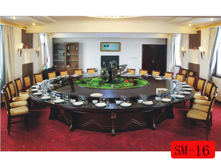 大型电动餐桌