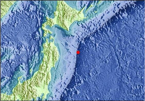 日本地震图