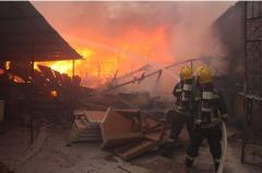 长春家具厂火灾损失惨重,无人员伤亡