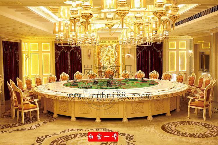 酒店餐桌必选的餐桌电动餐桌