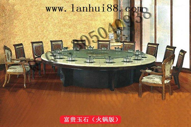 中式电动火锅桌为什么这么受欢迎?