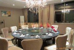 火锅玻璃转盘桌
